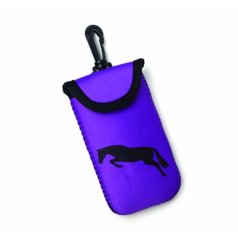 Kelley Tek Trek Neoprene Smart Phone Case - Purple with Jumper