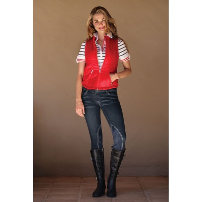 Goode Rider Ladies Couture Jean Knee Patch Breeches