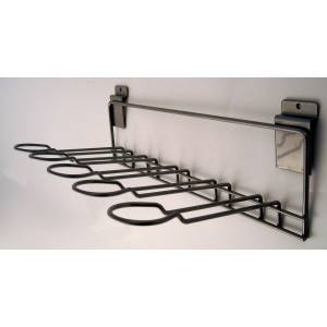 Snowbee Wall Mount Chrome Whip Rack