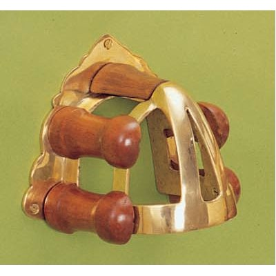 Horse Fare Brass And Wood Bridle Rack Equestriancollections