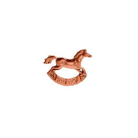 Horse Fare Copper Riding Key Holder