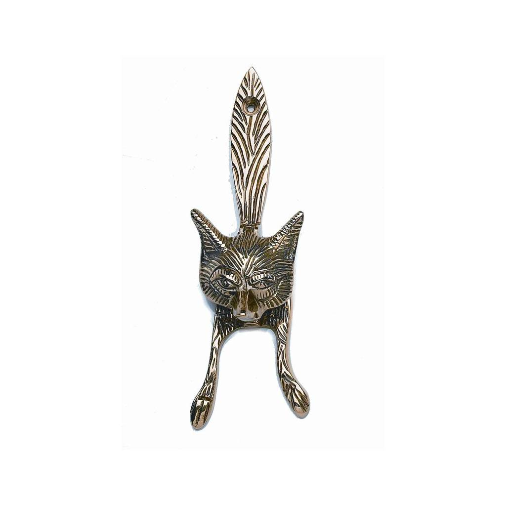 Horse Fare Fox Door Knocker