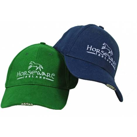 Horseware LED Baseball Cap - Green