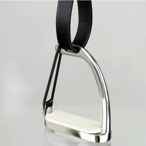 Horze Peacock Stirrups with  Rubber Donut