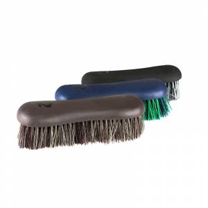 Horze Softgrip Short Bristle Dandy Brush