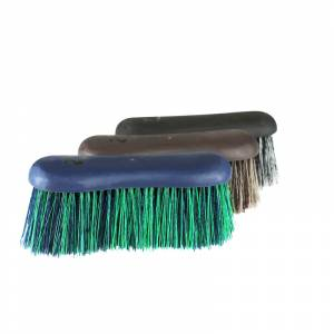 Horze Softgrip Long Bristle Dandy Brush