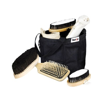 Horze Wooden Grooming Set