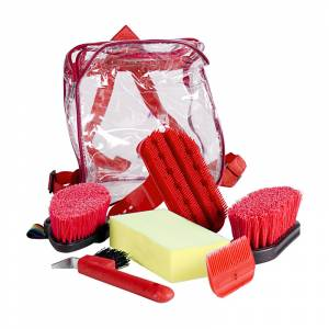 Horze Grooming Set Backpack