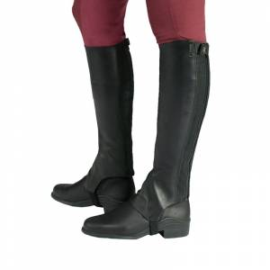 Horze Ladies Franci Soft Leather Half Chaps