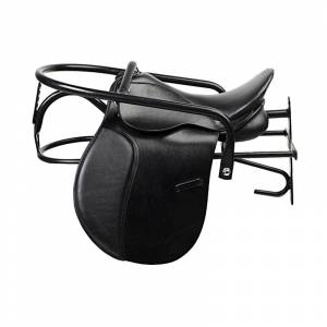 Horze Lockable Saddle Rack