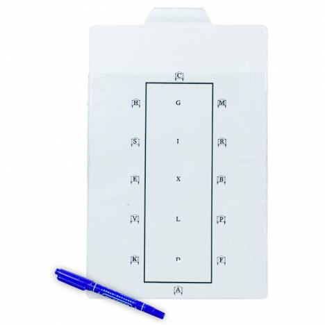 Horze Dressage Test Learner Board