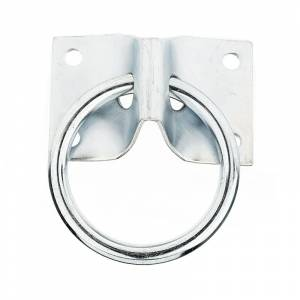 Horze Tie Ring with  Wall Plate