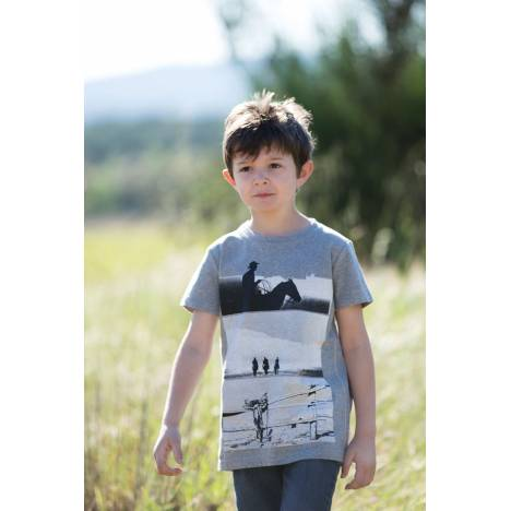 Horseware Novelty Tee - Boys, Grey