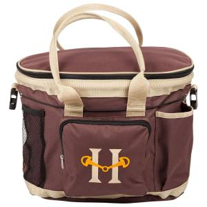 Huntley Equestrian Grooming Bag - Brown