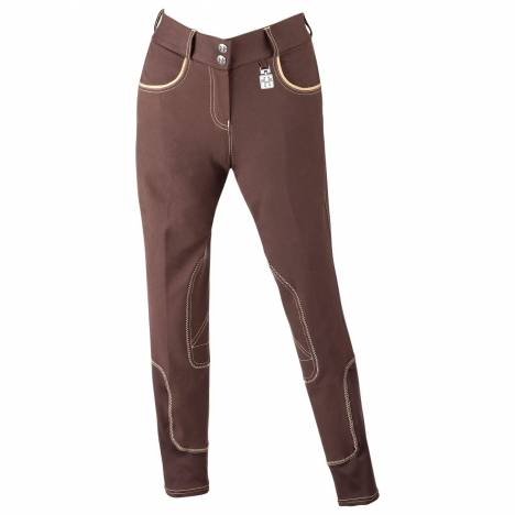 Huntley Riding Pant with Tan Welt - Ladies, Euro Seat