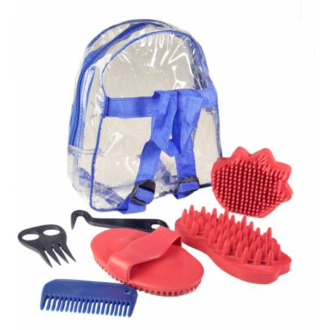 Grooming Kits With Rubber Brushes