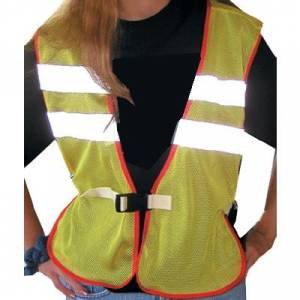 Intrepid Adult Mesh Reflective Safety Vest