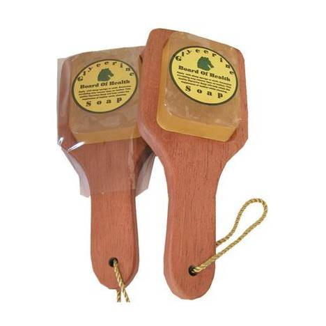 Board of Health Saddle Soap with Board