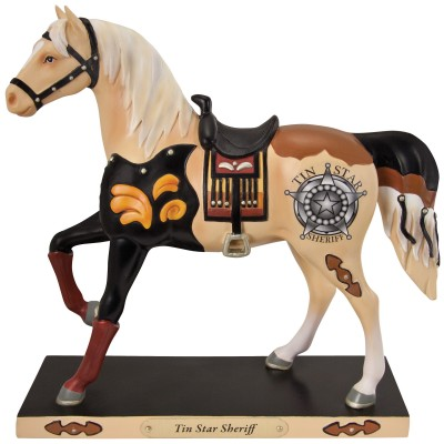 The Trail of Painted Ponies, Tin Star Sheriff Figurine