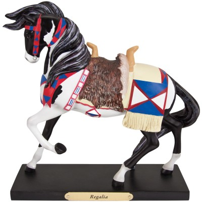 The Trail of Painted Pony  Regalia Figurine