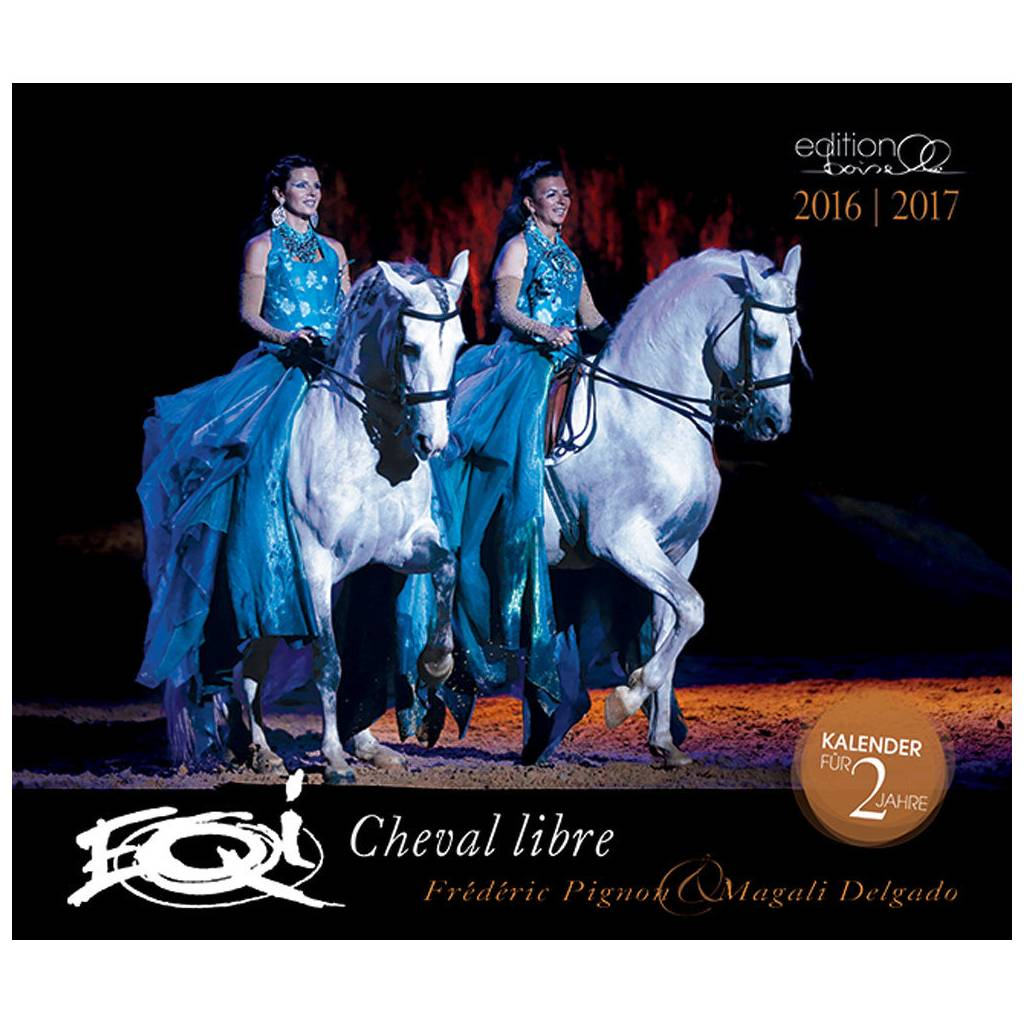 Boiselle Pigon & Delgado Magic of Horses 2016 Calendar