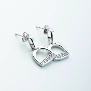 Kelley Cubic Zirconia Stirrup Post Earrings
