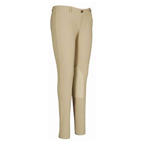 TuffRider Ladies Ribb Lowrise Pull On Riding Breeches
