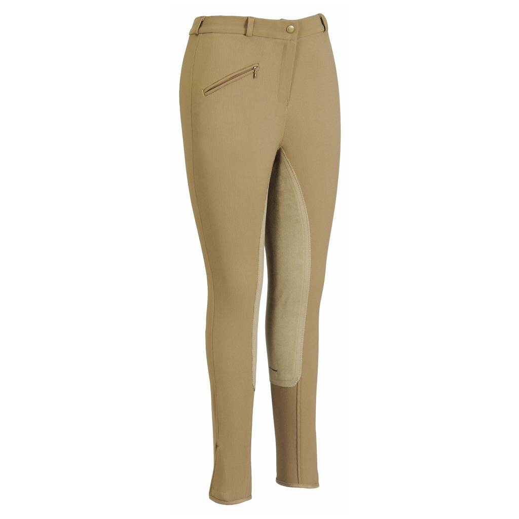 TuffRider Ladies Ribbed Low Rise Full Seat Riding Breeches