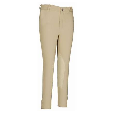 TuffRider Kids Ribb Knee Patch Riding Breeches
