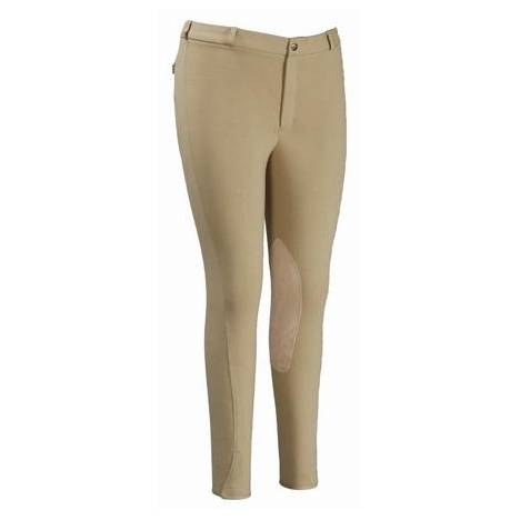 TuffRider Mens Knee Patch Riding Breeches