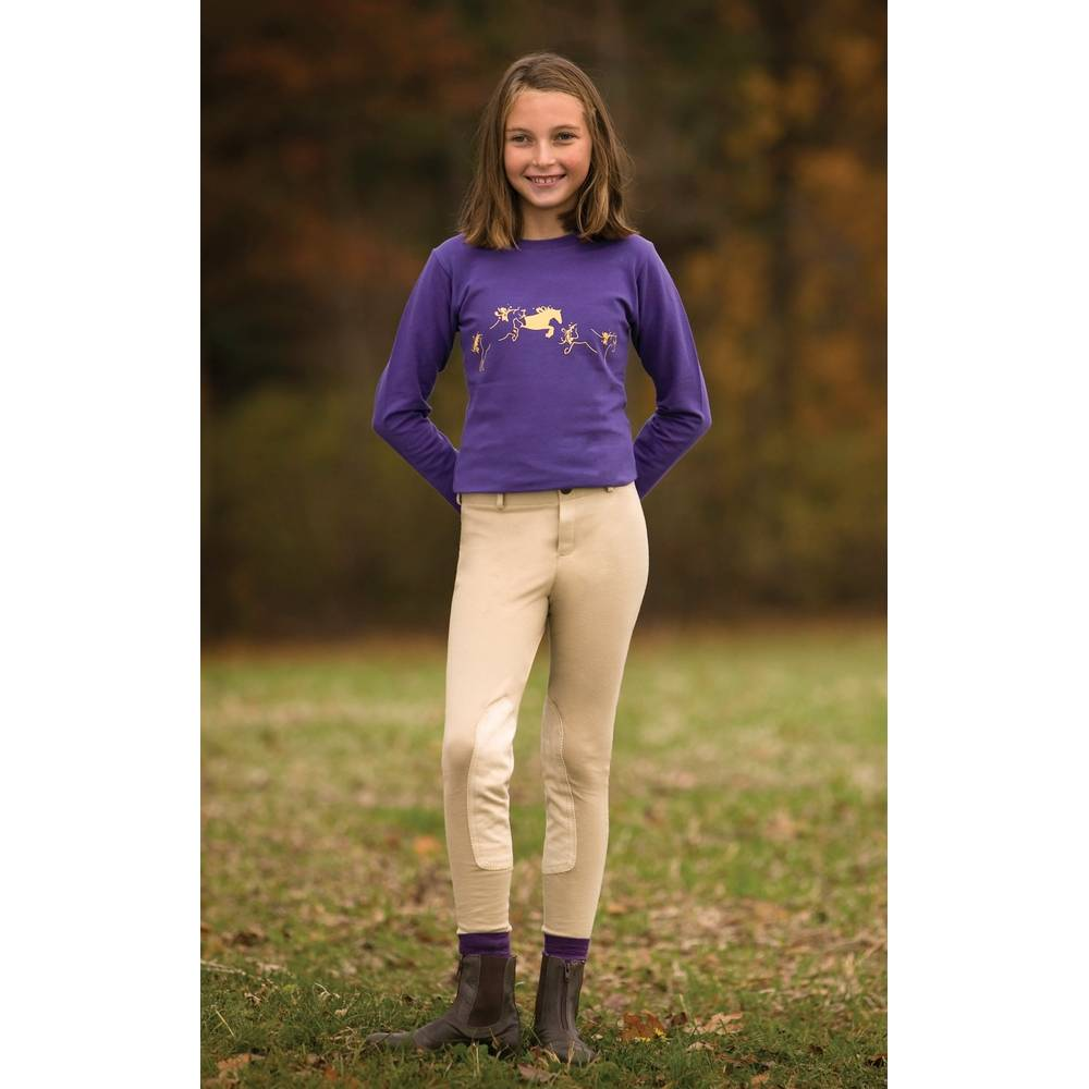 Tuffrider Kids Ecogreen Bamboo Riding Equestriancollections