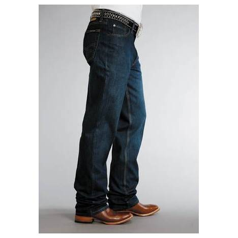 Stetson 1520 Fit Jeans - Mens, Dark Rinse
