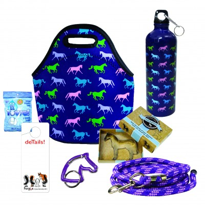 Kelley & Company Purple Horse Gift Pack