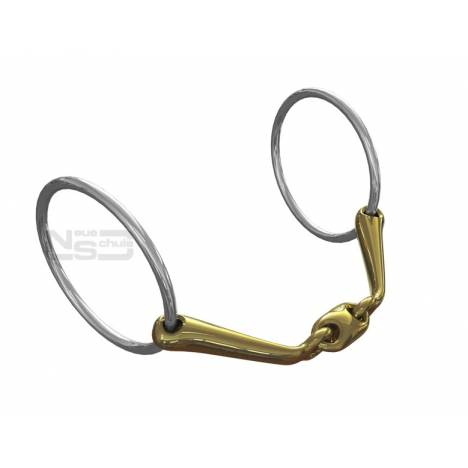 Neue Schule Starter Loose Ring Snaffle - 14mm