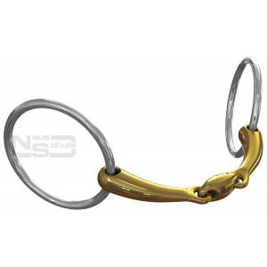 Neue Schule Team Up Loose Ring Snaffle - 16mm
