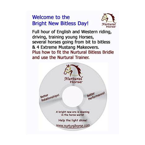 "Nurtural Horse ""A Bright New Bitless Day"" DVD"