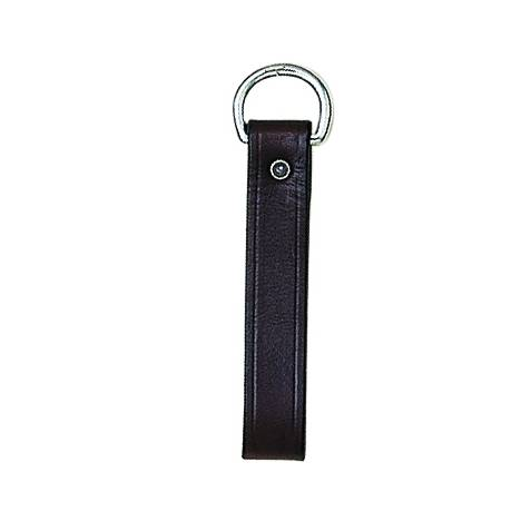 Perris Black Leather Girth Loop