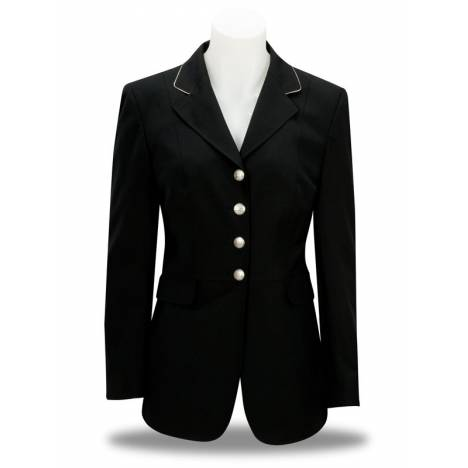 RJ Classsics Ladies Dressage Frock with Silver Piping