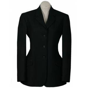 RJ Classics Ladies 3 Button Melton Hunt Coat