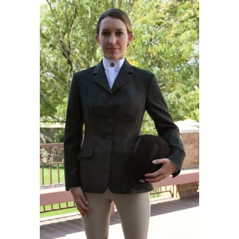 RJ Classics Essential Show Coat - Ladies, Green Plaid
