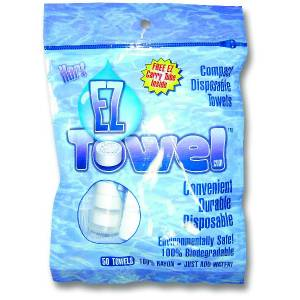 EZ Towel - Compact Disposable Towels