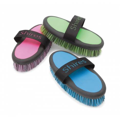 Shires Two Tone Soft Synthetic Body Brush