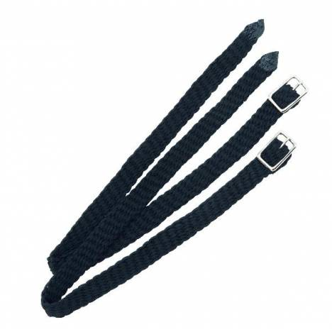 Shires Nylon Plaited Spur Straps