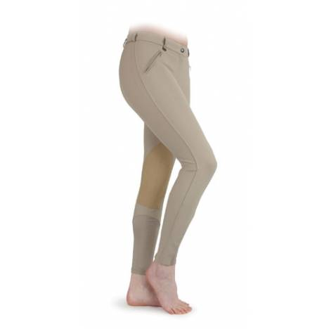 Shires Euro Seat Knee Patch Breeches - Ladies