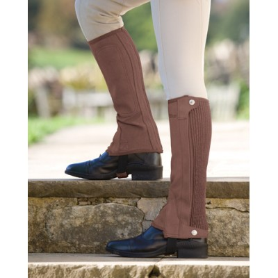 Shires Plain Half Chaps - Kids