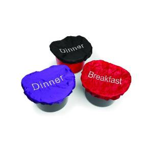 Shires Breakfast/Dinner Bucket Covers