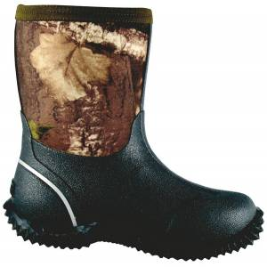 Smoky Mountain Kids Camo Amphibian Waterproof Boots