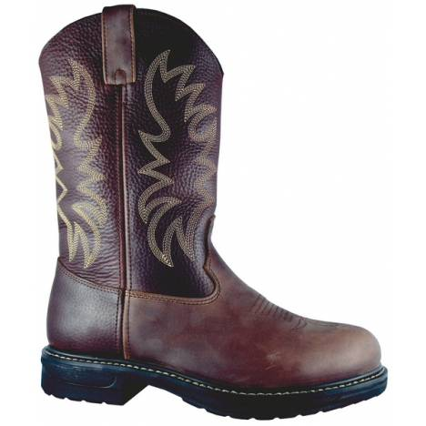 Smoky Mountain Mens Steel Toe Buffalo Boots