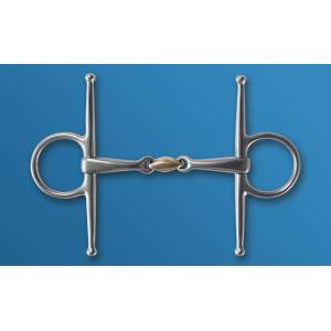 Stubben Steeltec Full Cheek Snaffle