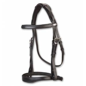 Stubben Fully Padded Snaffle Bridle - Flash